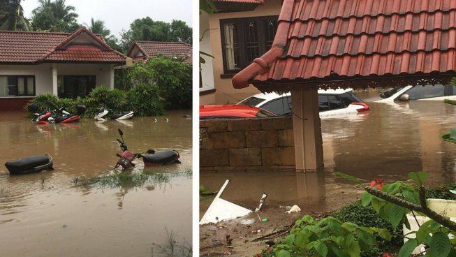 Наводнение на Самуи