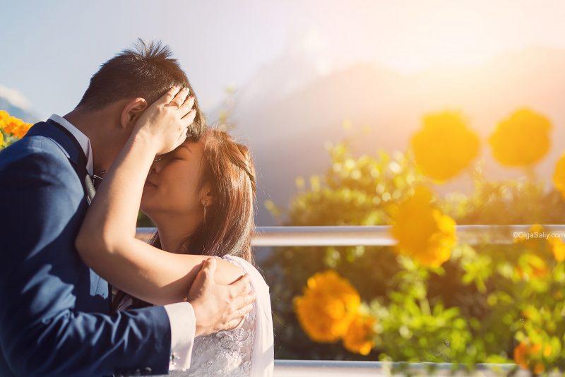Горы, свадебный фотограф