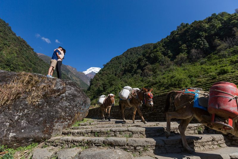 Свадебная фотосессия в Гималаях, Непал (42)