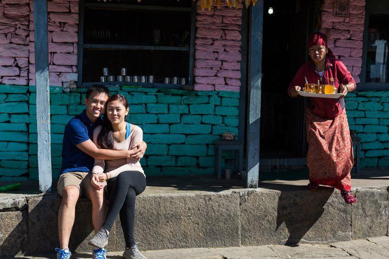 Свадебная фотосессия в Гималаях, Непал (41)