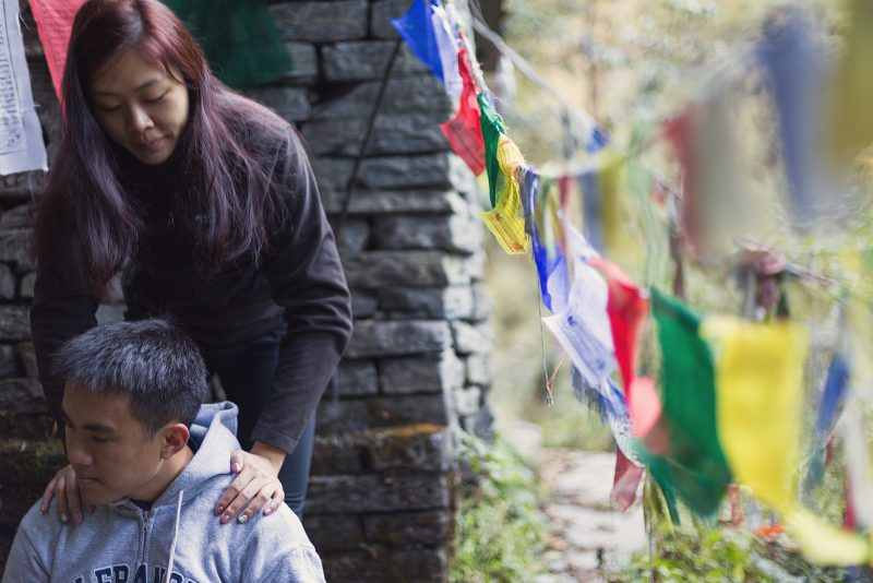 Свадебная фотосессия в Гималаях, Непал (34)