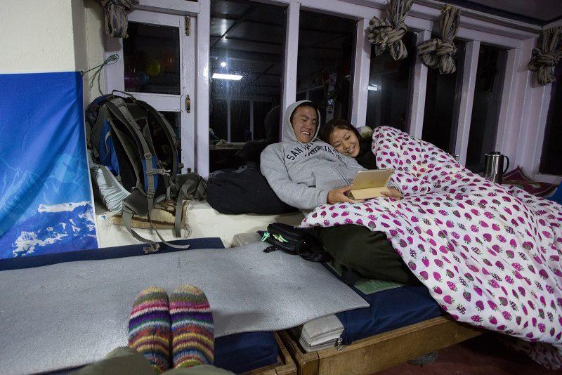 Ночёвка в Гестхаусе Фиштейл в базовом лагере Мачапучаре
