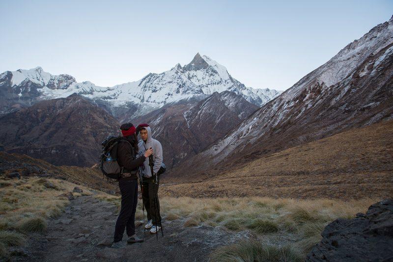 Свадебная фотосессия в Гималаях, Непал (21)