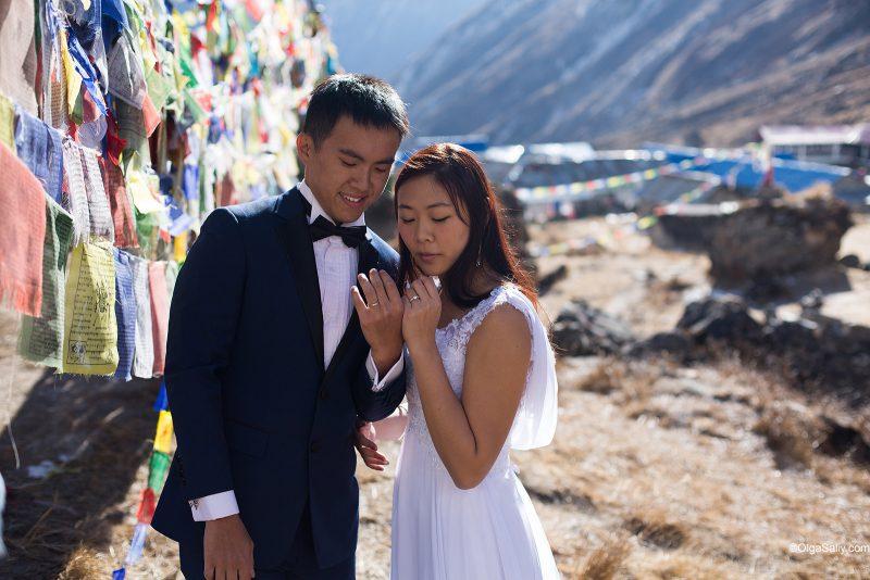 Свадебный фотограф в Непале, Гималаи