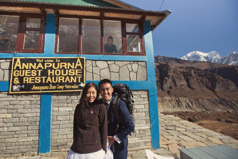 Свадебная фотосессия в Гималаях, Непал (7)