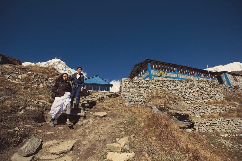 Свадебная фотосессия в Гималаях, Непал (6)