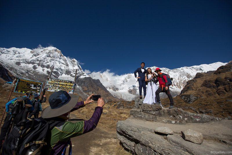 Свадебная фотосессия в Гималаях, Непал (5)