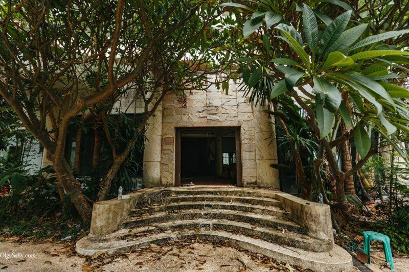 Заброшенный отель в Тайланде №404 (17)