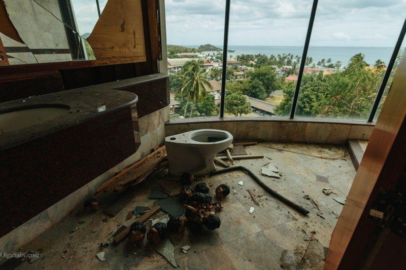 Заброшенный отель в Тайланде №404 (11)