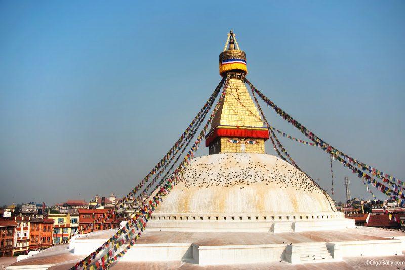 Ступа Бодо Катманду