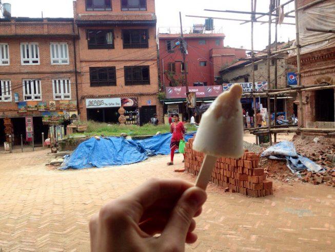 Непал, kulfi ice cream