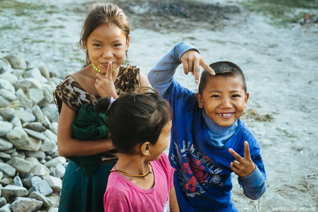 Путешествие по Непалу на мотоцикле (9)