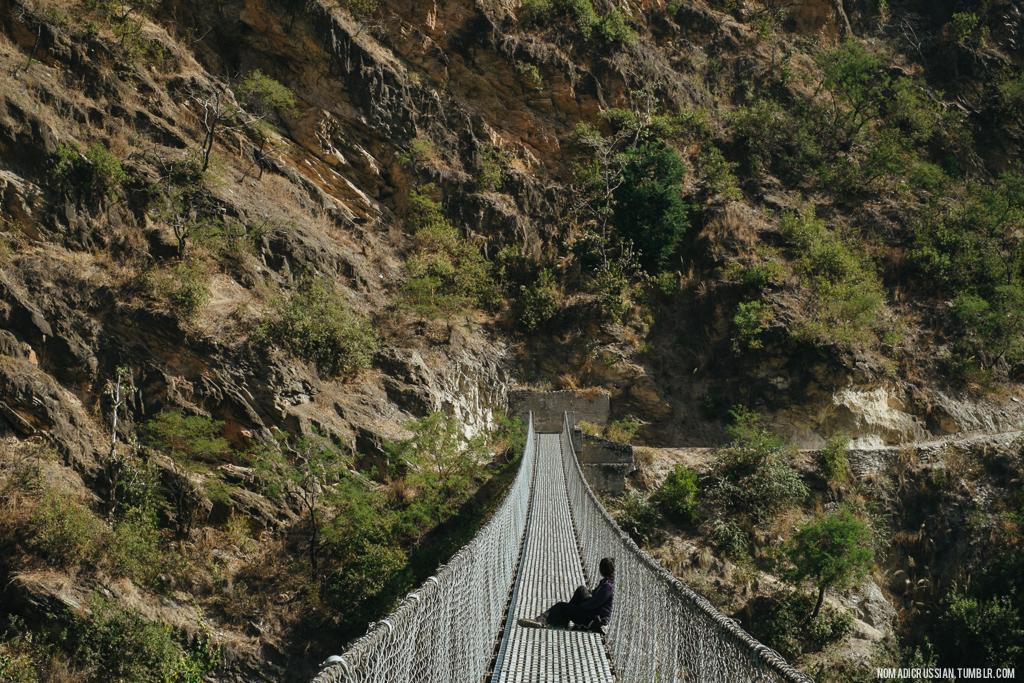 Путешествие по Непалу на мотоцикле (1)