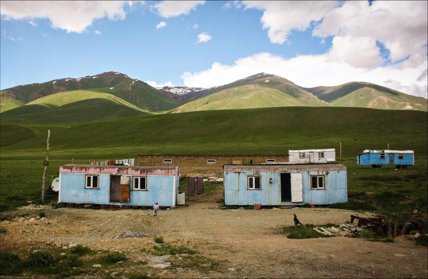 Аул - традиционное поселение народов Средней Азии.