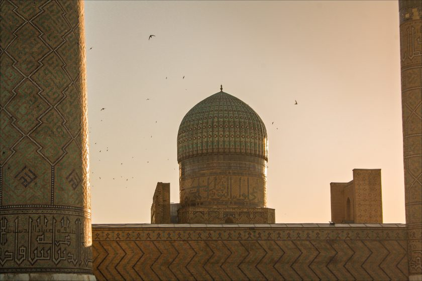 Мечеть Биби-Ханум, г. Самарканд