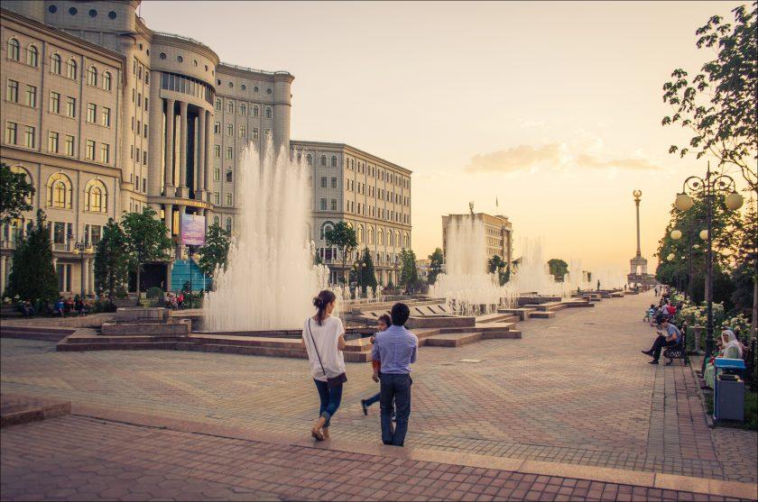 Центр Душанбе