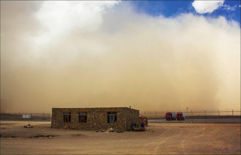 Песчаная буря над Мургабом