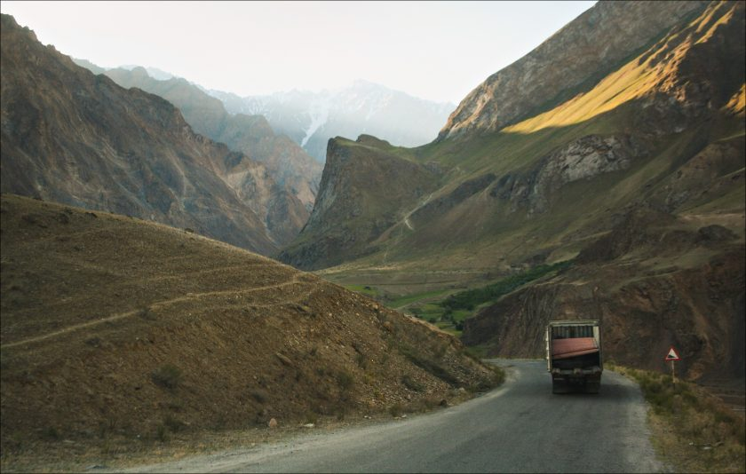 Дорога по Памиру