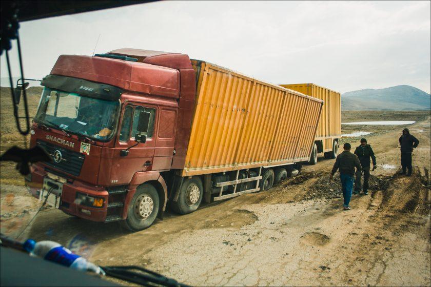 Автостопом по Памиру