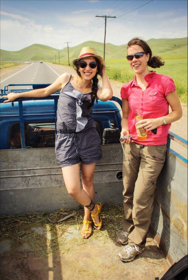 Автостоп по Киргизии