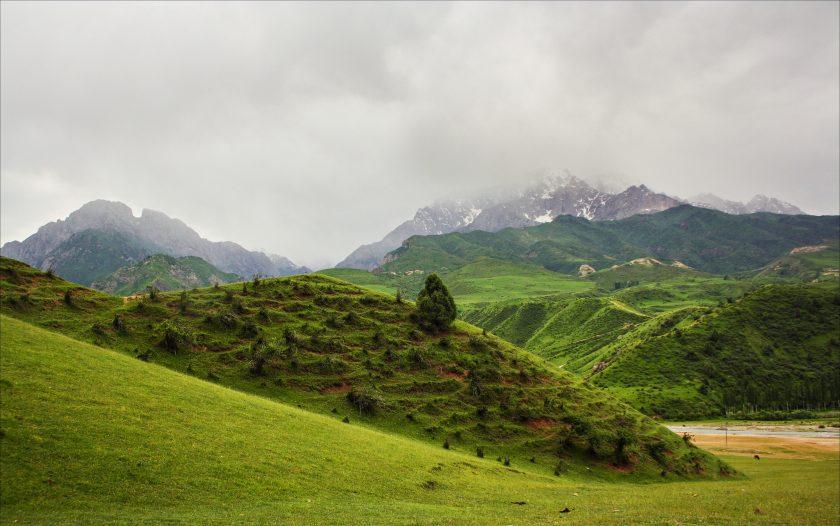 Окрестности села Лаглан, Ошская область