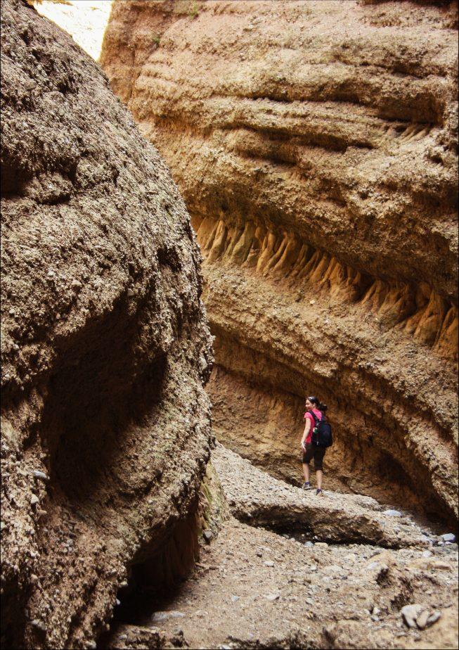 Песчаный каньон