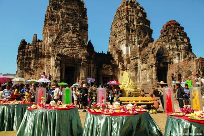 Храм обезьян в Лопбури, Тайланд (13)