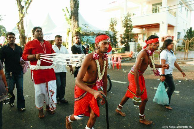 фестиваль Тайпусам в Малайзии (22)