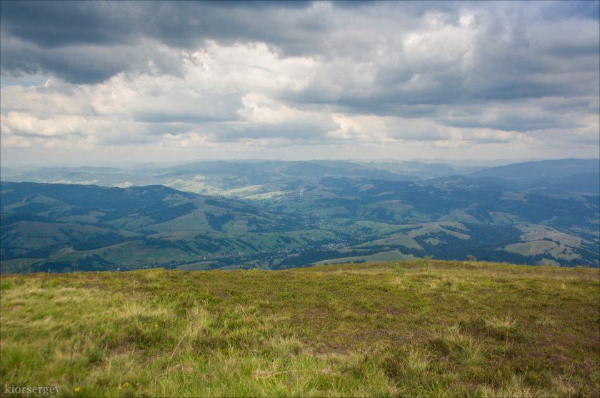 Вид с горы Гемба