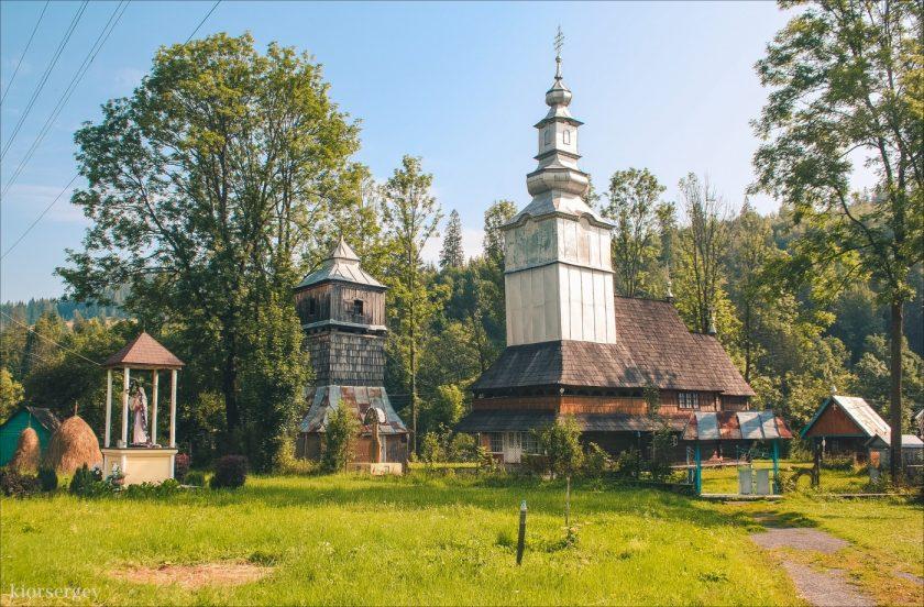 Церковь в с. Изки