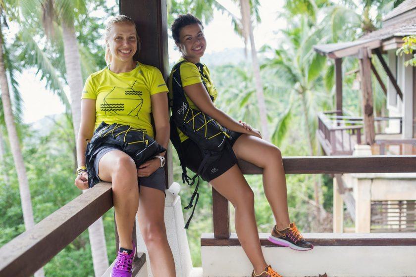 Мария и Люба на заброшенной вилле и реклама рюкзаков Run/Lab (4)