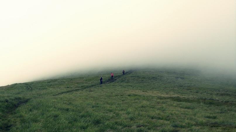 Туманы в горах Украины