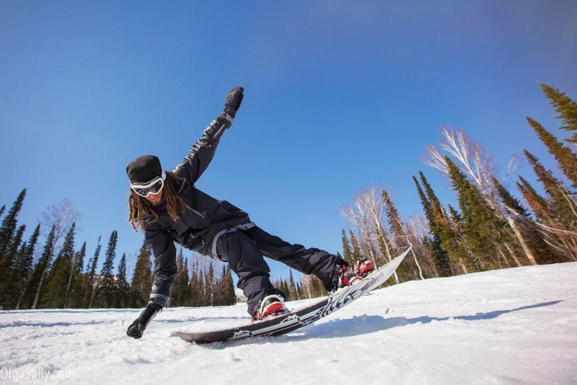 Лучший инструктор по сноуборду в Шерегеше