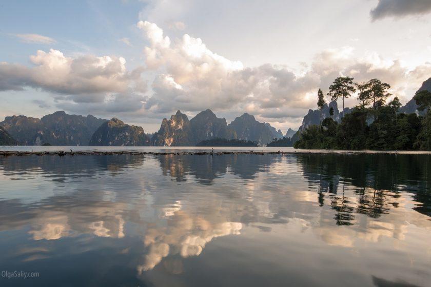 Озеро Чео Лан в парке Као Сок, Таиланд (8)