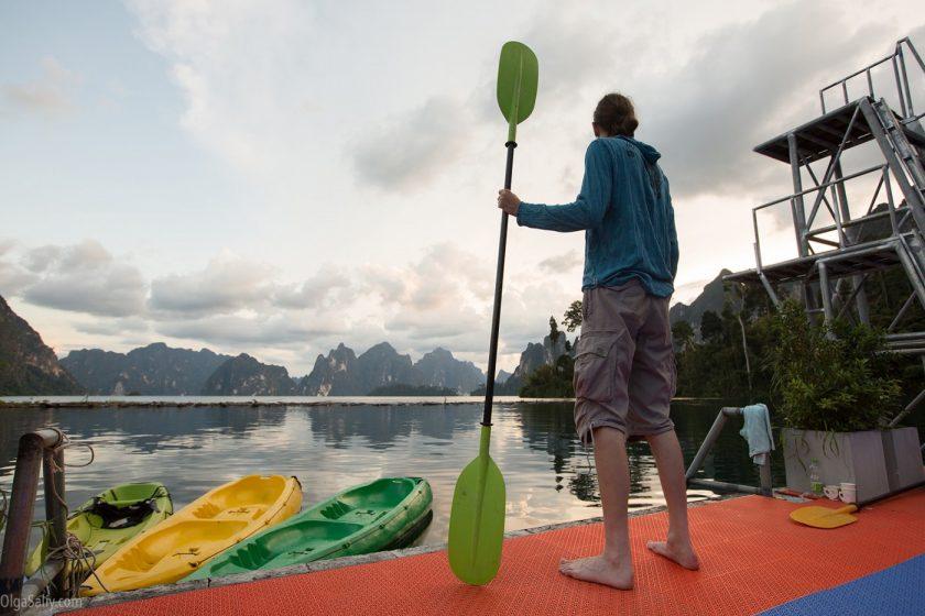Озеро Чео Лан в парке Као Сок, Таиланд (5)