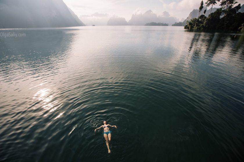 Озеро Чео Лан в парке Као Сок, Таиланд (2)
