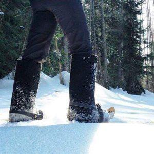Прогулки на снегоступах в Шерегеше