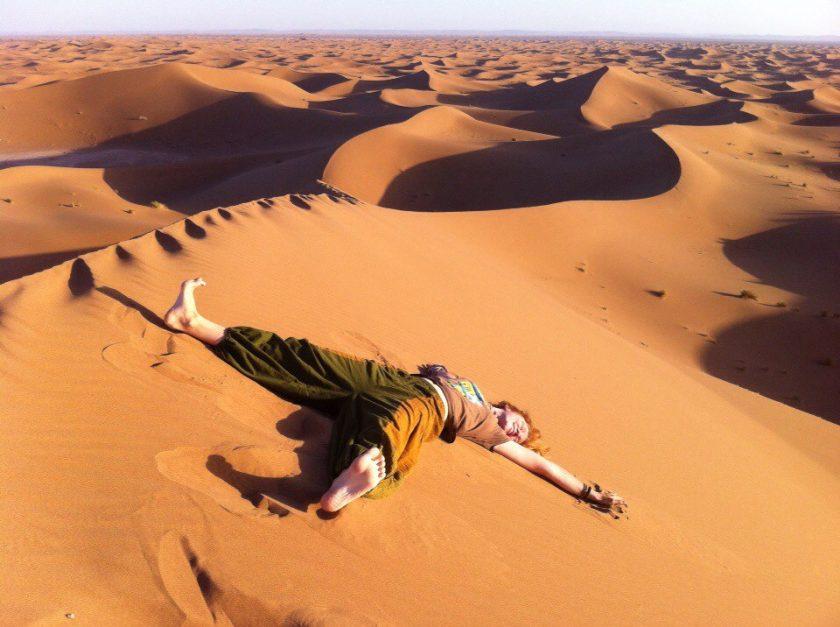 Как найти пустыню в Марокко