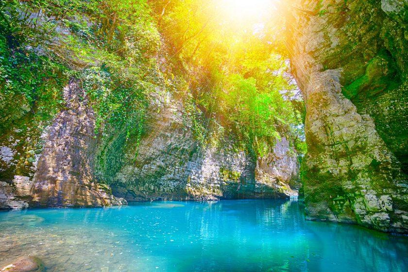 Мартвильский каньон - один из красивейших в Мегрельском Регионе