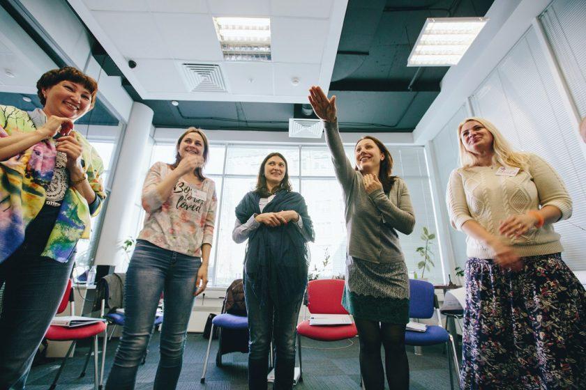 Тренинг английского языка в центре Свобода Слова