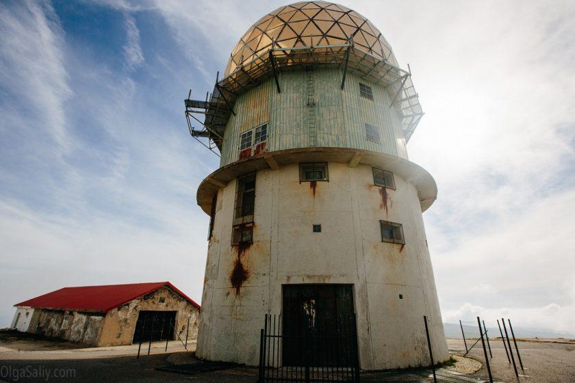 Заброшенная Радиолокационная станция на горе Торре, Португалия