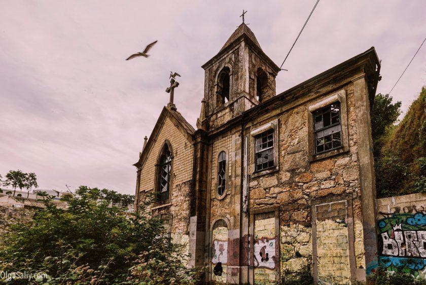 Заброшенные места Порту, Португалия (19)