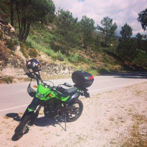 На Мотоцикле по Португалии
