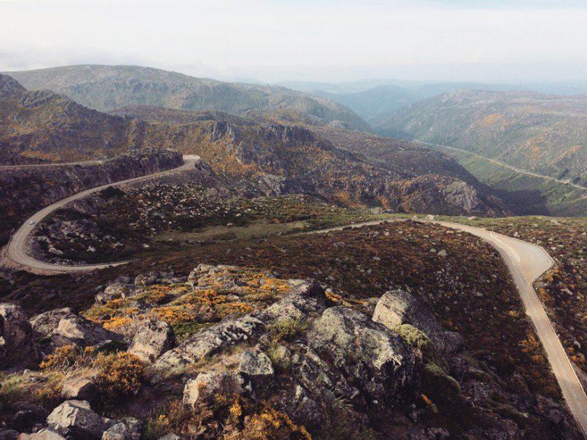 Дорога на гору Торро, Португалия