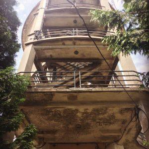 Заброшенная водонапорная башня позапрошлого века. Самая высокая точка Порту