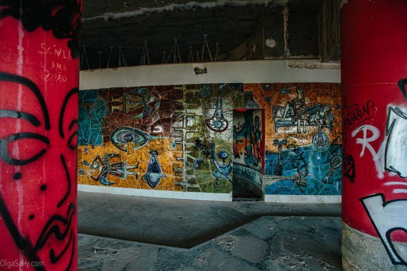 Заброшенный отель в Лиссабоне (12)
