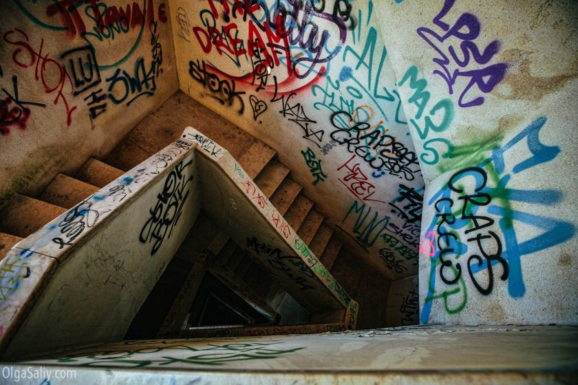 Заброшенный отель в Лиссабоне (8)