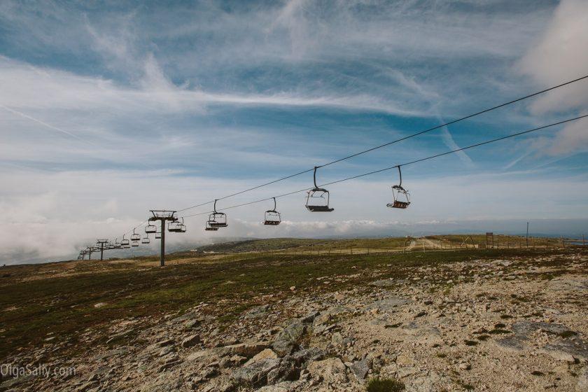 Горно-лыжный резорт в Португалии