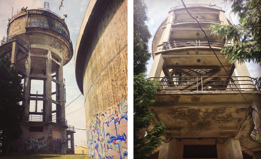 Заброшенная башня в Порто, Monte do Tadeu