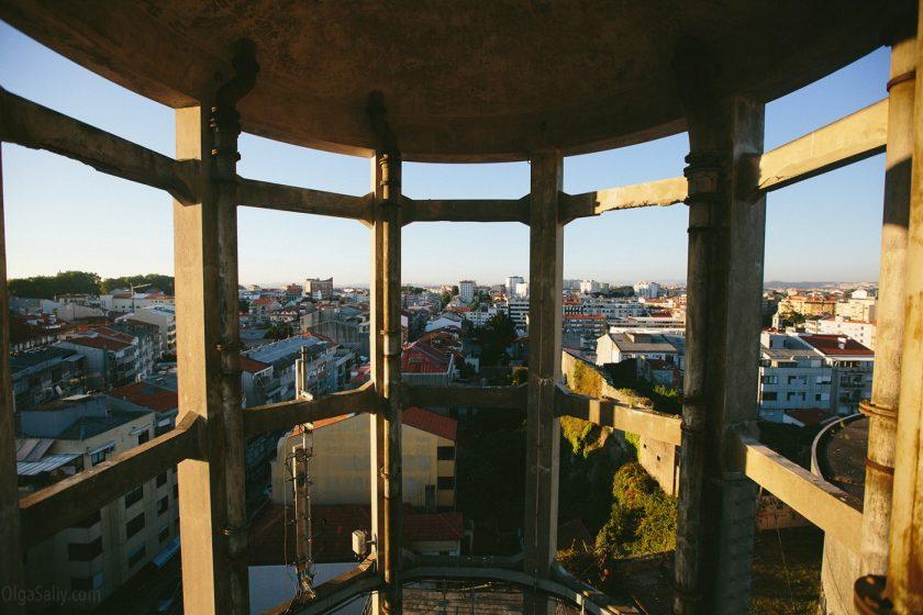 Крутая заброшка на самой высокой точке города Порто